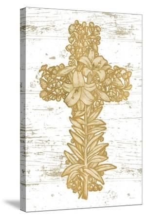 Holiday Cross I-Beth Grove-Stretched Canvas Print