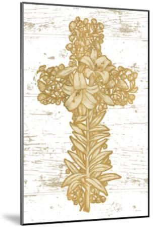 Holiday Cross I-Beth Grove-Mounted Art Print