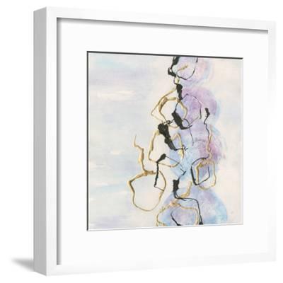 Abstract Lines on Pastel I-Chris Paschke-Framed Art Print
