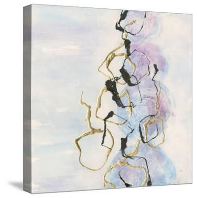 Abstract Lines on Pastel I-Chris Paschke-Stretched Canvas Print