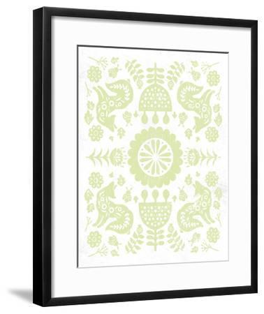 Otomi Fox Pastel-Cleonique Hilsaca-Framed Art Print