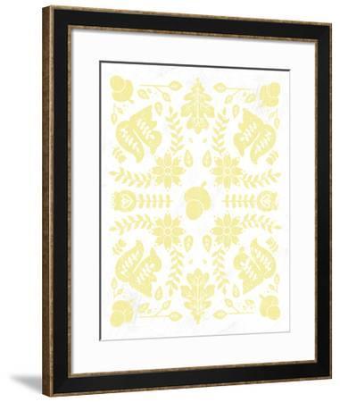 Otomi Squirrels Pastel-Cleonique Hilsaca-Framed Art Print