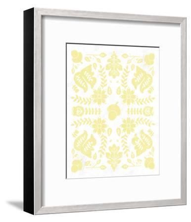 Otomi Squirrels Pastel-Cleonique Hilsaca-Framed Premium Giclee Print
