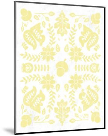 Otomi Squirrels Pastel-Cleonique Hilsaca-Mounted Premium Giclee Print