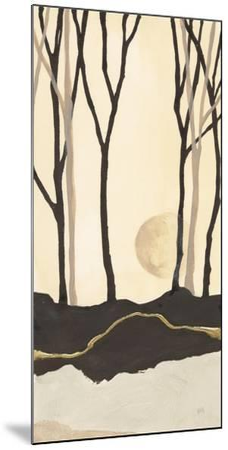 Silhouette III-Chris Paschke-Mounted Art Print