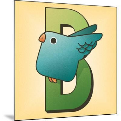 B is for Bird-Cleonique Hilsaca-Mounted Art Print