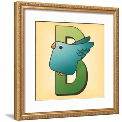 B is for Bird-Cleonique Hilsaca-Framed Art Print