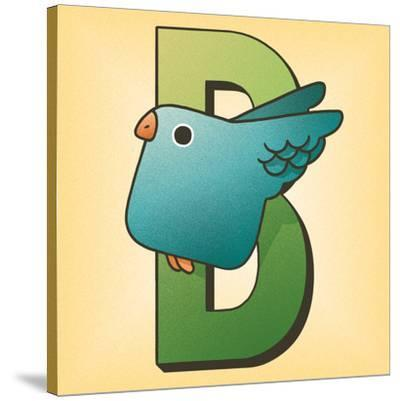 B is for Bird-Cleonique Hilsaca-Stretched Canvas Print