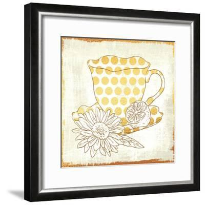 Chamomile Lemon Tea-Cleonique Hilsaca-Framed Art Print