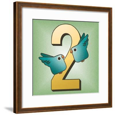 Two Birds-Cleonique Hilsaca-Framed Art Print