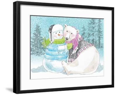 Polar Cap Friends III-Beth Grove-Framed Art Print