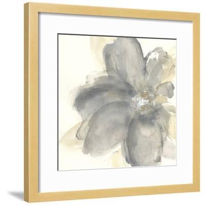 Floral Gray I-Chris Paschke-Framed Art Print