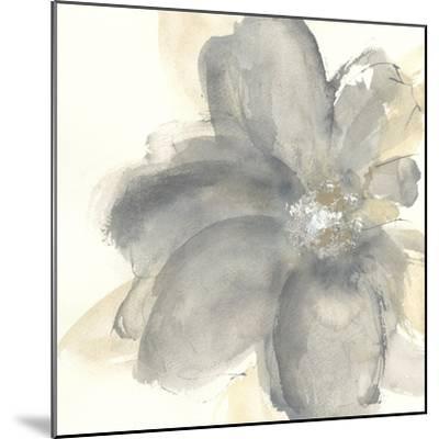 Floral Gray I-Chris Paschke-Mounted Art Print