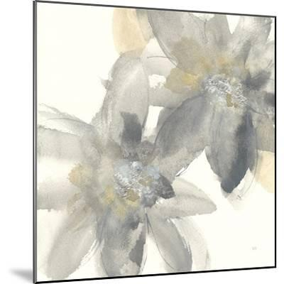 Gray and Silver Flowers II-Chris Paschke-Mounted Art Print