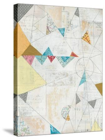 Map Collage-Courtney Prahl-Stretched Canvas Print