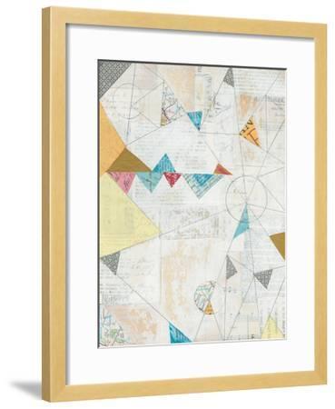 Map Collage-Courtney Prahl-Framed Art Print