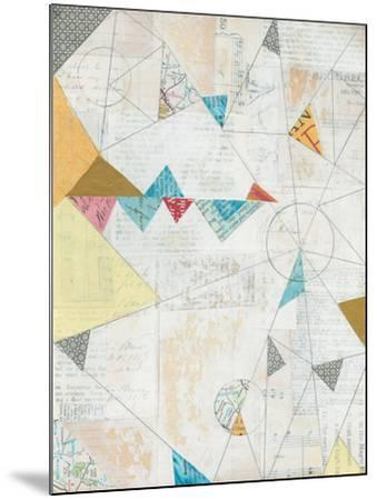 Map Collage-Courtney Prahl-Mounted Art Print