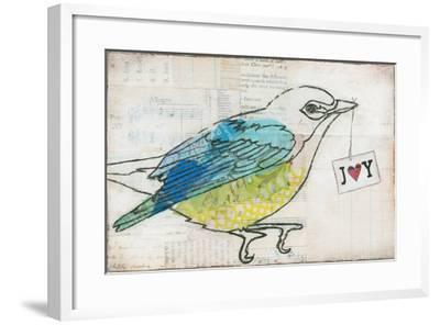 Love Birds III Joy-Courtney Prahl-Framed Art Print