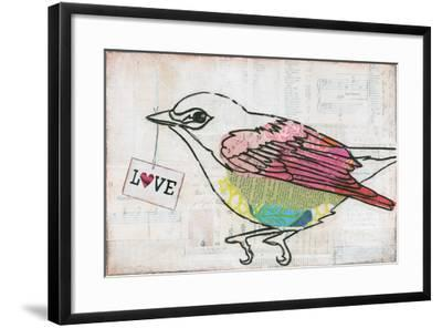 Love Birds IV Love-Courtney Prahl-Framed Art Print