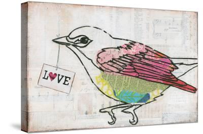 Love Birds IV Love-Courtney Prahl-Stretched Canvas Print
