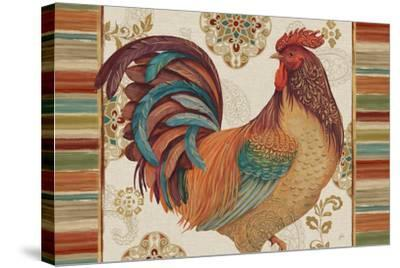 Rooster Rainbow IVA-Daphne Brissonnet-Stretched Canvas Print