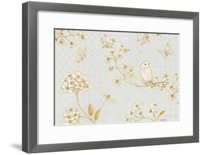Golden Garden I-Daphne Brissonnet-Framed Art Print