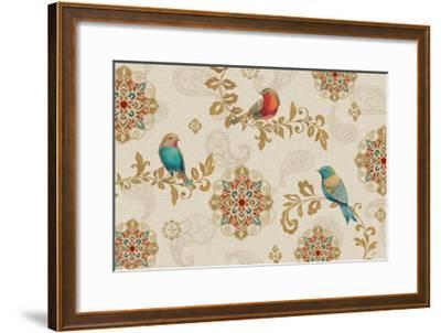 Bird Rainbow IA-Daphne Brissonnet-Framed Art Print