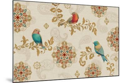 Bird Rainbow IA-Daphne Brissonnet-Mounted Art Print