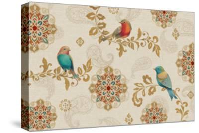 Bird Rainbow IA-Daphne Brissonnet-Stretched Canvas Print