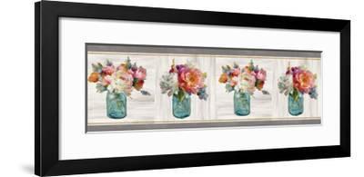 French Cottage Bouquet IV-Danhui Nai-Framed Art Print