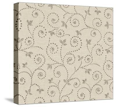 Batik IV Patterns-Daphne Brissonnet-Stretched Canvas Print