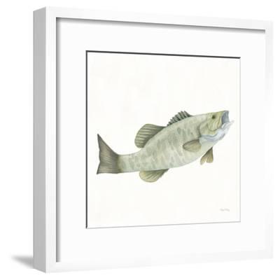 Gone Fishin Small Mouth-Elyse DeNeige-Framed Art Print