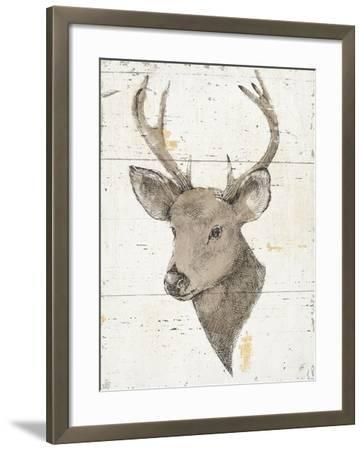 Wild and Beautiful II with Brown-Daphne Brissonnet-Framed Art Print