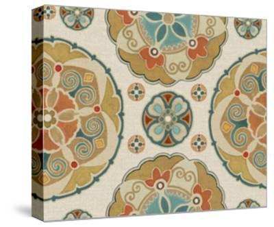 Spice Suzani Patterns I-Daphne Brissonnet-Stretched Canvas Print