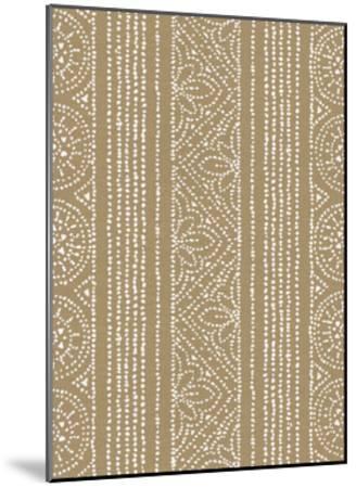 Batik II Patterns-Daphne Brissonnet-Mounted Art Print