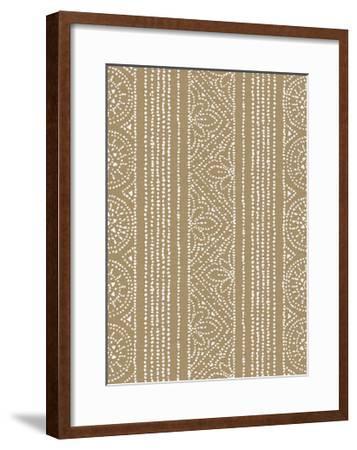 Batik II Patterns-Daphne Brissonnet-Framed Art Print