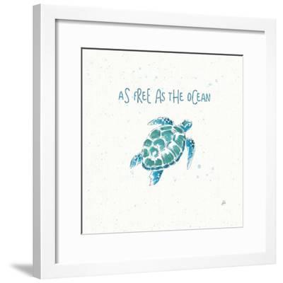 Maritime III-Daphne Brissonnet-Framed Art Print