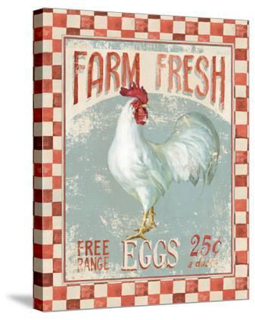 Farm Nostalgia VII-Danhui Nai-Stretched Canvas Print