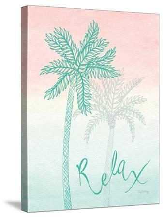 Sunset Palms I-Elyse DeNeige-Stretched Canvas Print