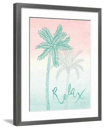 Sunset Palms I-Elyse DeNeige-Framed Art Print