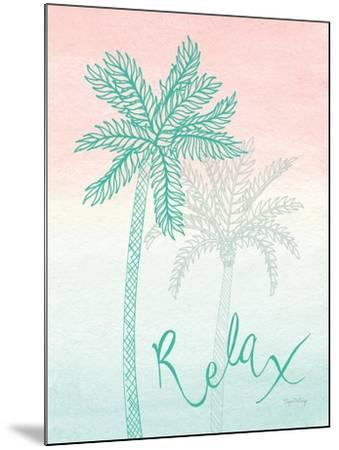 Sunset Palms I-Elyse DeNeige-Mounted Art Print