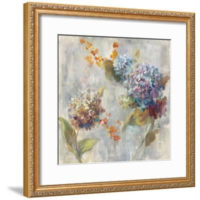 Autumn Hydrangea II-Danhui Nai-Framed Art Print