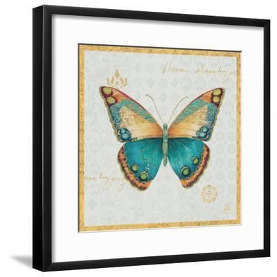 Bohemian Wings Butterfly VIA-Daphne Brissonnet-Framed Art Print