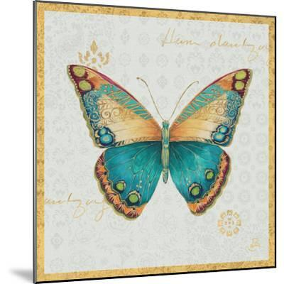 Bohemian Wings Butterfly VIA-Daphne Brissonnet-Mounted Art Print