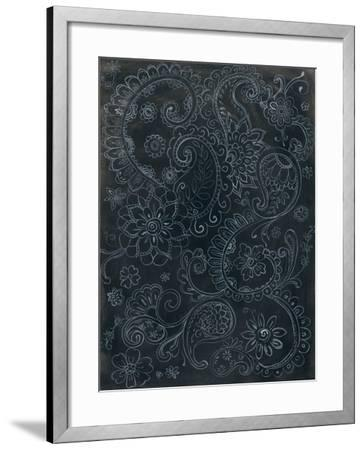 Paisley Swirl-Danhui Nai-Framed Art Print
