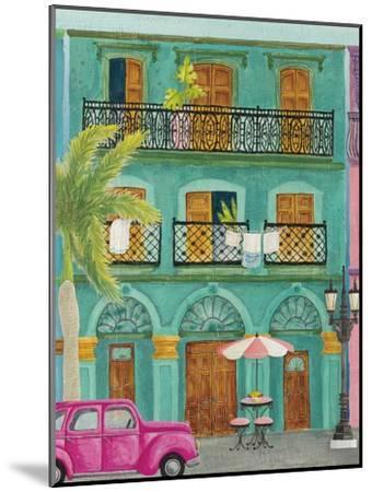 Havana III-Elyse DeNeige-Mounted Art Print