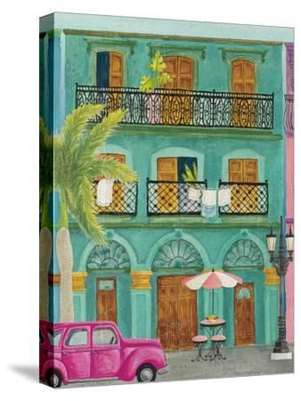 Havana III-Elyse DeNeige-Stretched Canvas Print