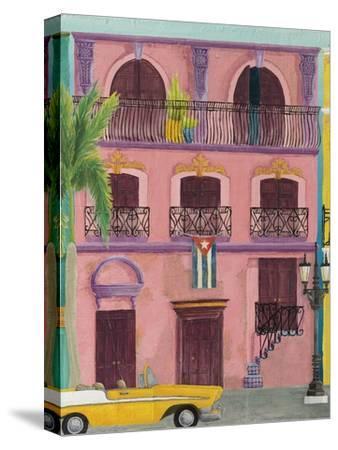 Havana II-Elyse DeNeige-Stretched Canvas Print