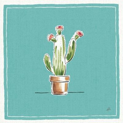 Desert Bloom VIII-Daphne Brissonnet-Framed Art Print