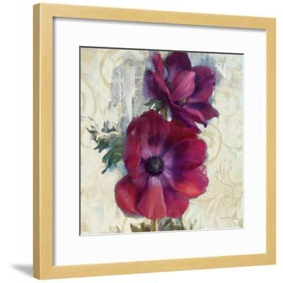 Rich Anemones I on Ivory-Danhui Nai-Framed Art Print